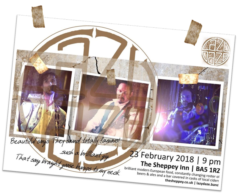 Live at The Sheppey Inn Feb 2018