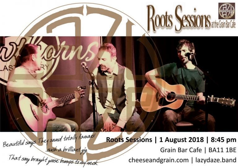 Lazy Daze live at the Cheese & Grain Roots Sessions