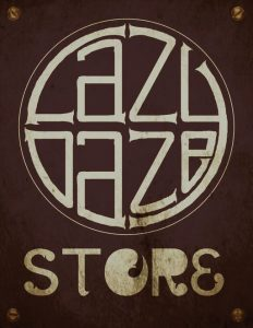 Lazy Daze Store Sign v5